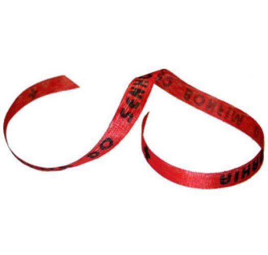 Senhor do Bonfim wish ribbon Vermelho